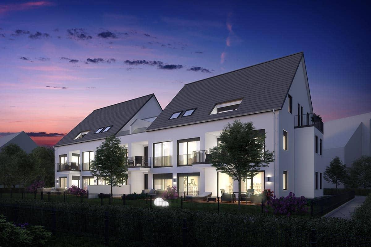 Neubauimmobilie Augsburg-Inningen
