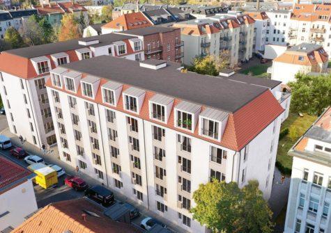 """Neubauobjekt """"Plagwitz Apartments"""" in Leipzig in der Nähe der Universität"""