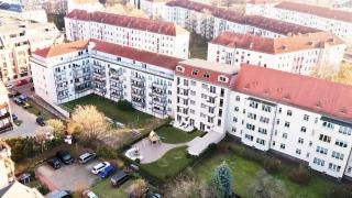 """Neubauobjekt """"Rietz"""" in Dresden im Bezirk Pieschen, Stadtteil Mickten"""