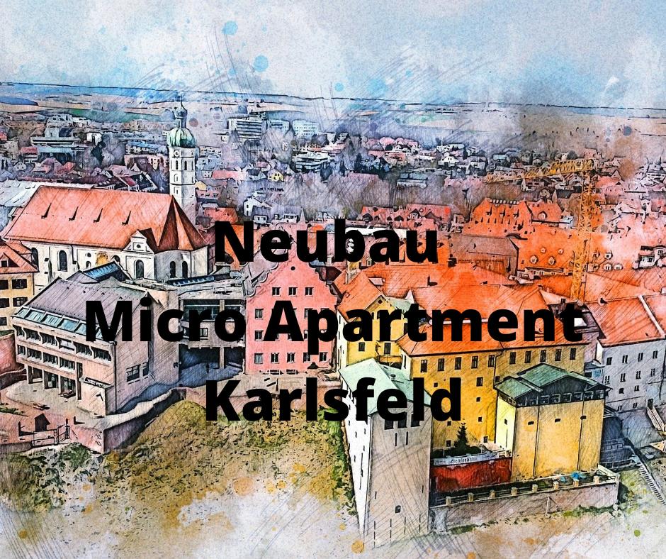 Neubau Micro-Apartments Karlsfeld