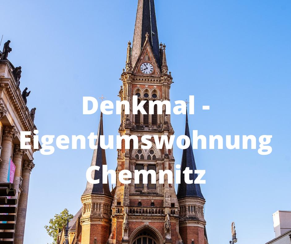 Denkmal – Eigentumswohnung Chemnitz