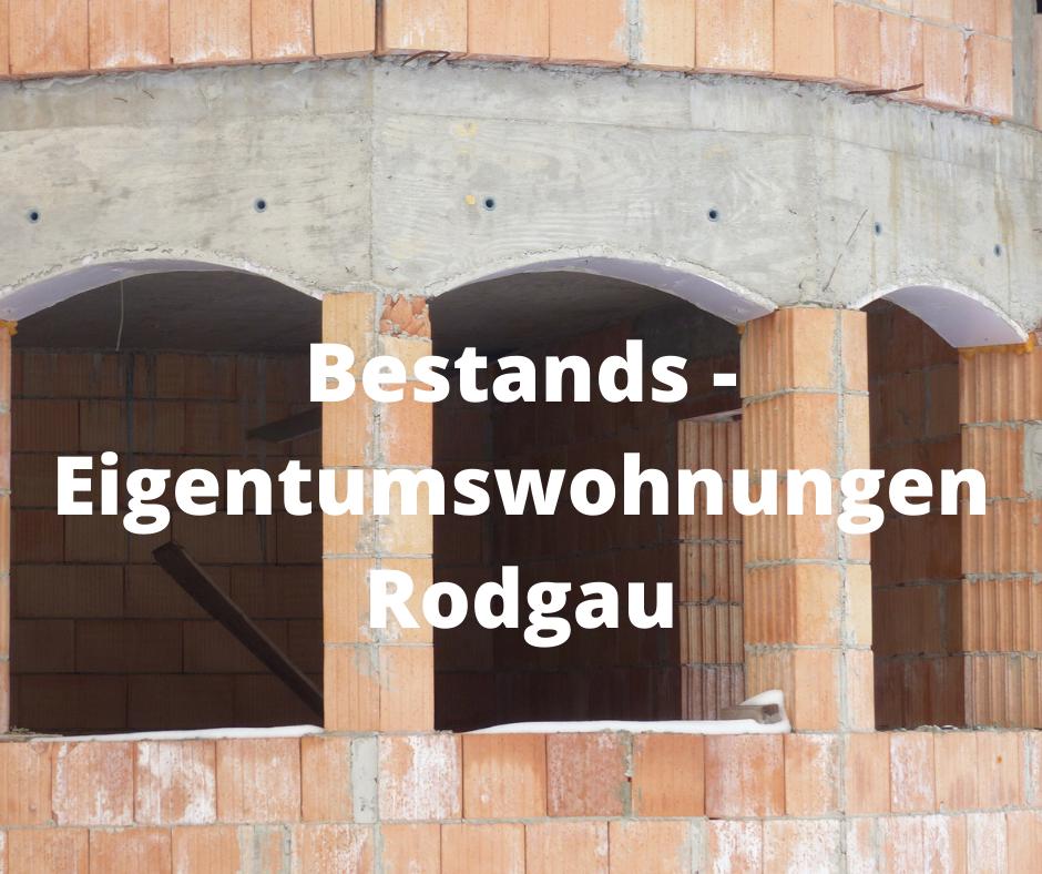 Bestands – Eigentumswohnung Rodgau