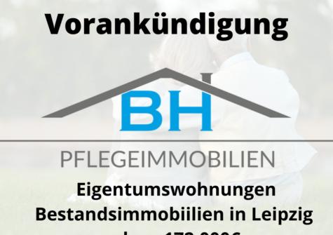 VORANKÜNDIGUNG: Eigentumswohnungen Leipzig