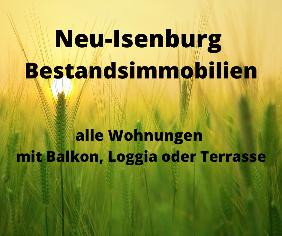Bestandsimmobilien Neu-Isenburg