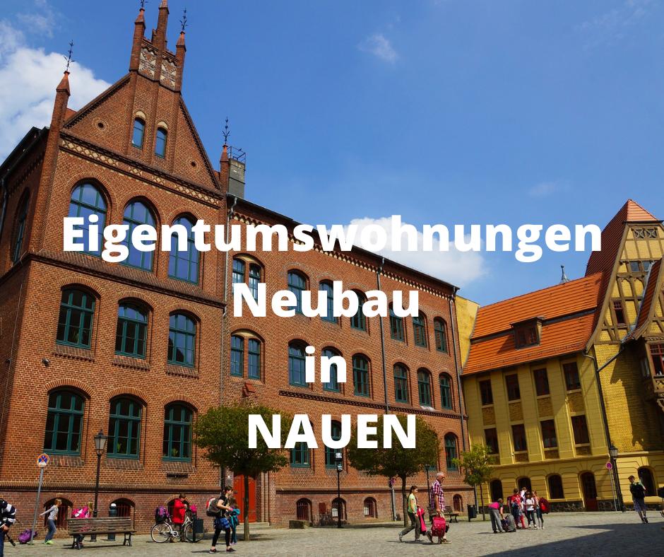 Eigentumswohnungen Nauen – Neubau