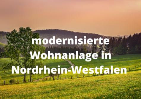 Modernisierte Wohnanlage in Bönen Nordrhein-Westfalen
