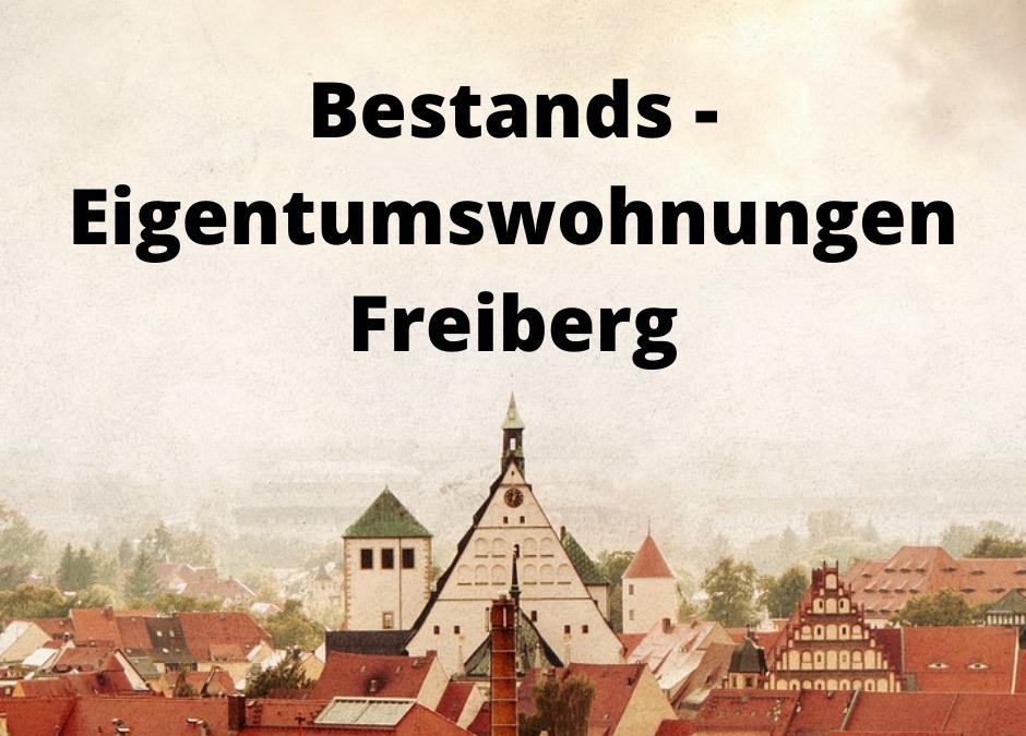 Bestands – Eigentumswohnungen Freiberg