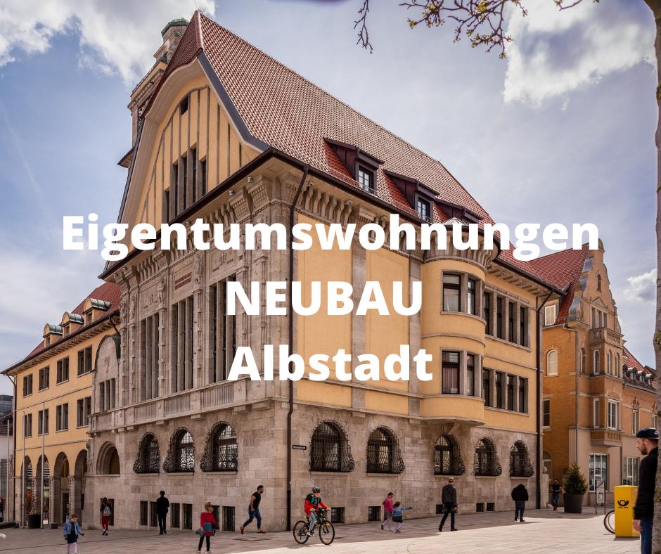 Neubau-Eigentumswohnungen Albstadt