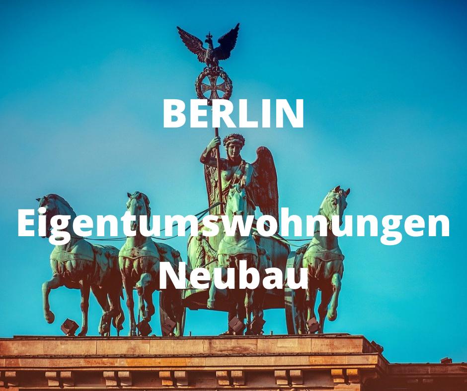 Berlin: Eigentumswohnungen als NEUBAU